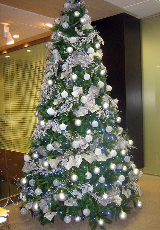 193 Rboles Navidad Color Plata B Amp M 193 Rboles De Navidad