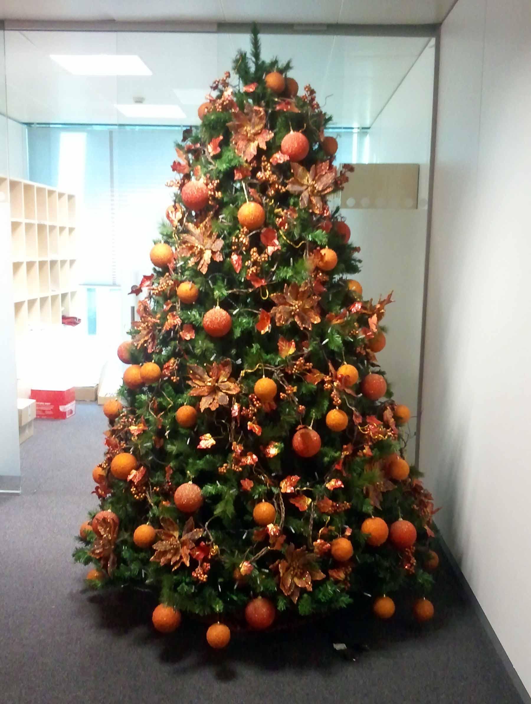rboles de navidad color naranja with arboles de navidad navideas