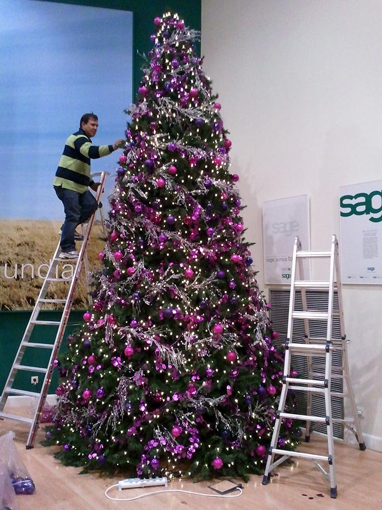 Rboles navidad ext b m rboles de navidad - Imagenes de arboles navidad decorados ...