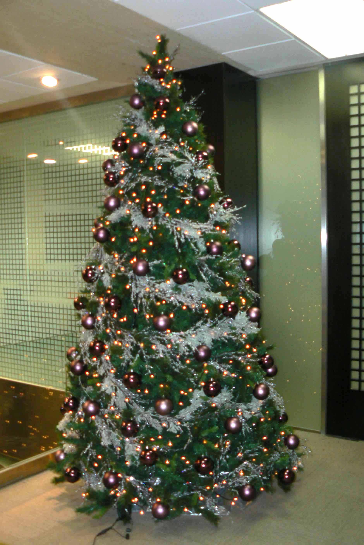Rbol de navidad morado b m rboles de navidad - Arboles de navidad colores ...