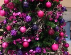 Árboles de Navidad color Morado