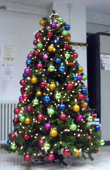 rboles de navidad multicolor