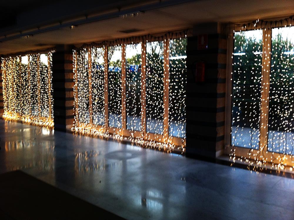 Luces navide as b m rboles de navidad Luces para exterior