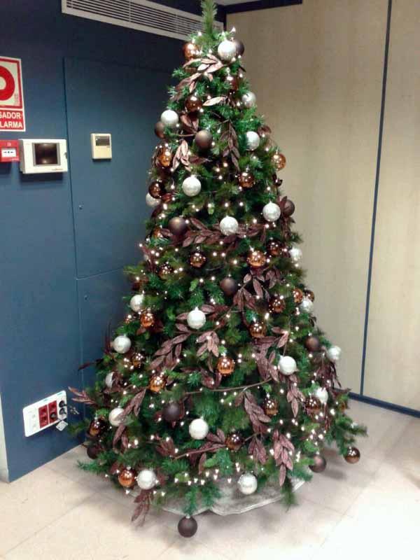 Rboles navidad color marr n b m rboles de navidad - Arboles de navidad colores ...
