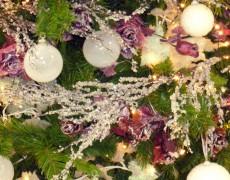 Árboles de Navidad color Blanco