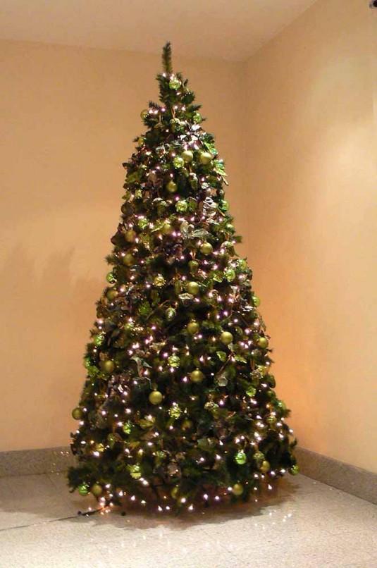 Rboles navidad color verde b m rboles de navidad - Arboles de navidad colores ...