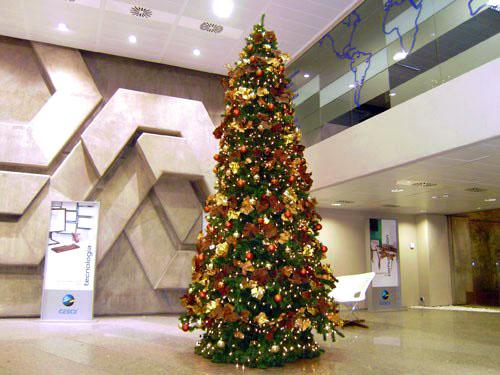 Rboles navidad color ocre b m rboles de navidad - Arbol navidad colores ...
