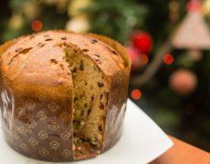 Receta Panettone: decoración navideña